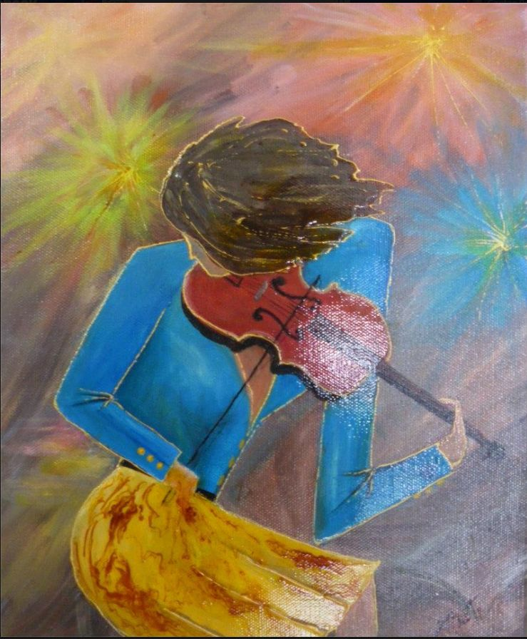 Nicole tardif artiste peintre la vidure for Artistes peintres connus