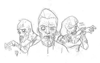 Octobre 2013 la vidure page 6 - Comment dessiner un zombie ...