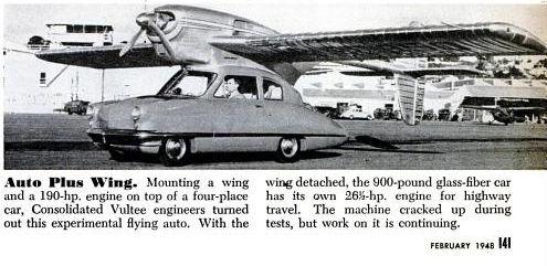 Auto avion
