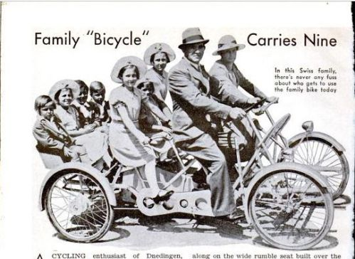 bicyclette familliale
