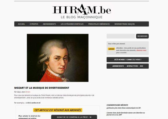 Mozart Hiram.be 2