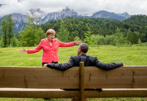 Agela et Barack