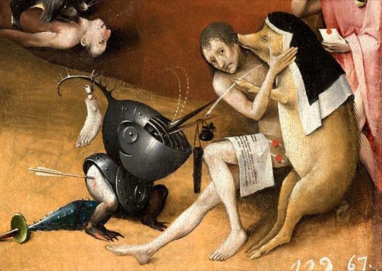 Bosch Le cochon scribe